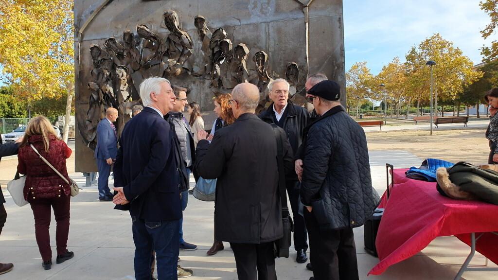 Inauguración de la segunda escultura del Camino del Santo Grial, esta vez en Massamagrell 20191125_124737 (10)