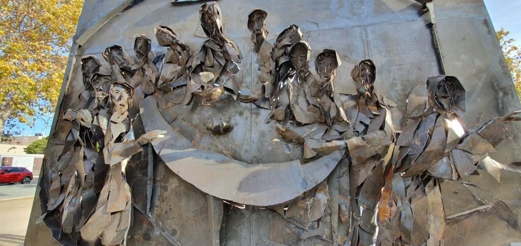 Inauguración de la segunda escultura del Camino del Santo Grial, esta vez en Massamagrell 20191125_124737 (13)
