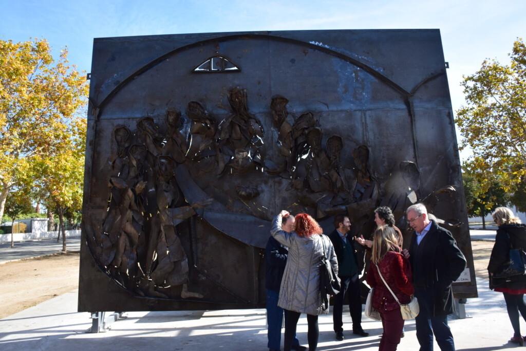 Inauguración de la segunda escultura del Camino del Santo Grial, esta vez en Massamagrell 20191125_124737 (17)