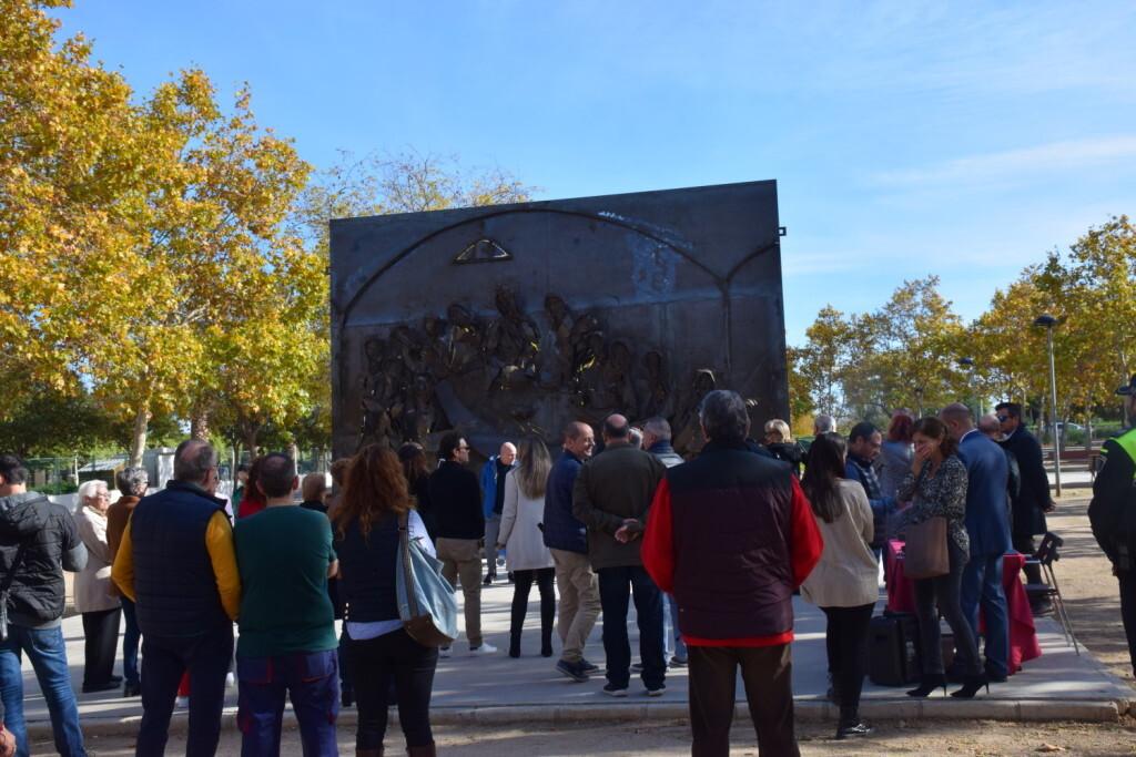 Inauguración de la segunda escultura del Camino del Santo Grial, esta vez en Massamagrell 20191125_124737 (21)