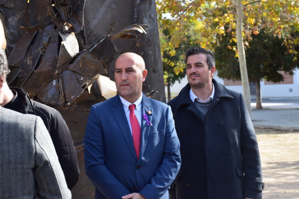 Inauguración de la segunda escultura del Camino del Santo Grial, esta vez en Massamagrell 20191125_124737 (29)