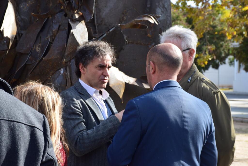 Inauguración de la segunda escultura del Camino del Santo Grial, esta vez en Massamagrell 20191125_124737 (30)