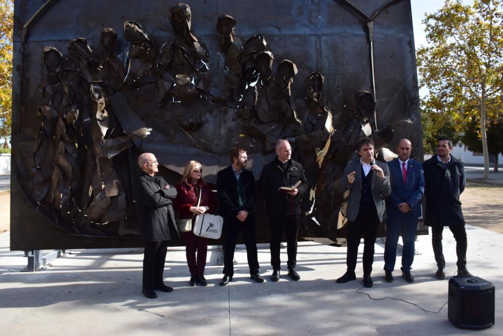 Inauguración de la segunda escultura del Camino del Santo Grial, esta vez en Massamagrell 20191125_124737 (41)