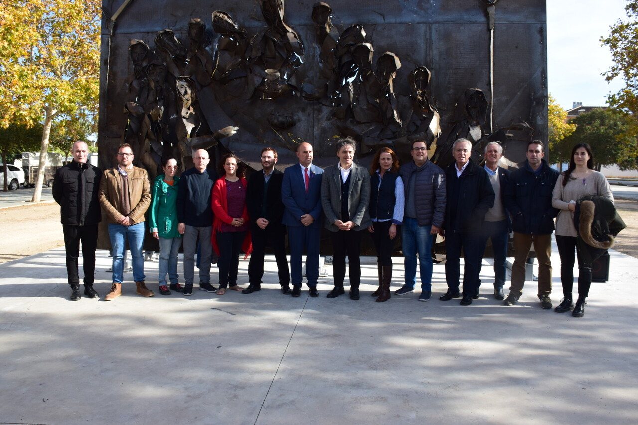 Inauguración de la segunda escultura del Camino del Santo Grial, esta vez en Massamagrell 20191125_124737 (42)