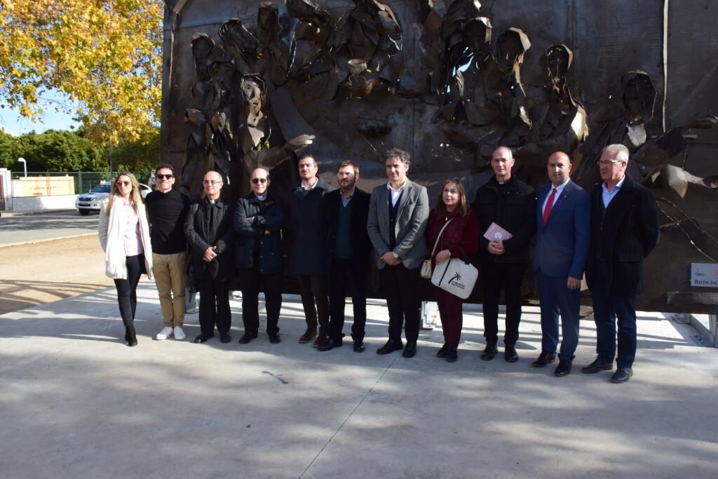 Inauguración de la segunda escultura del Camino del Santo Grial, esta vez en Massamagrell 20191125_124737 (47)