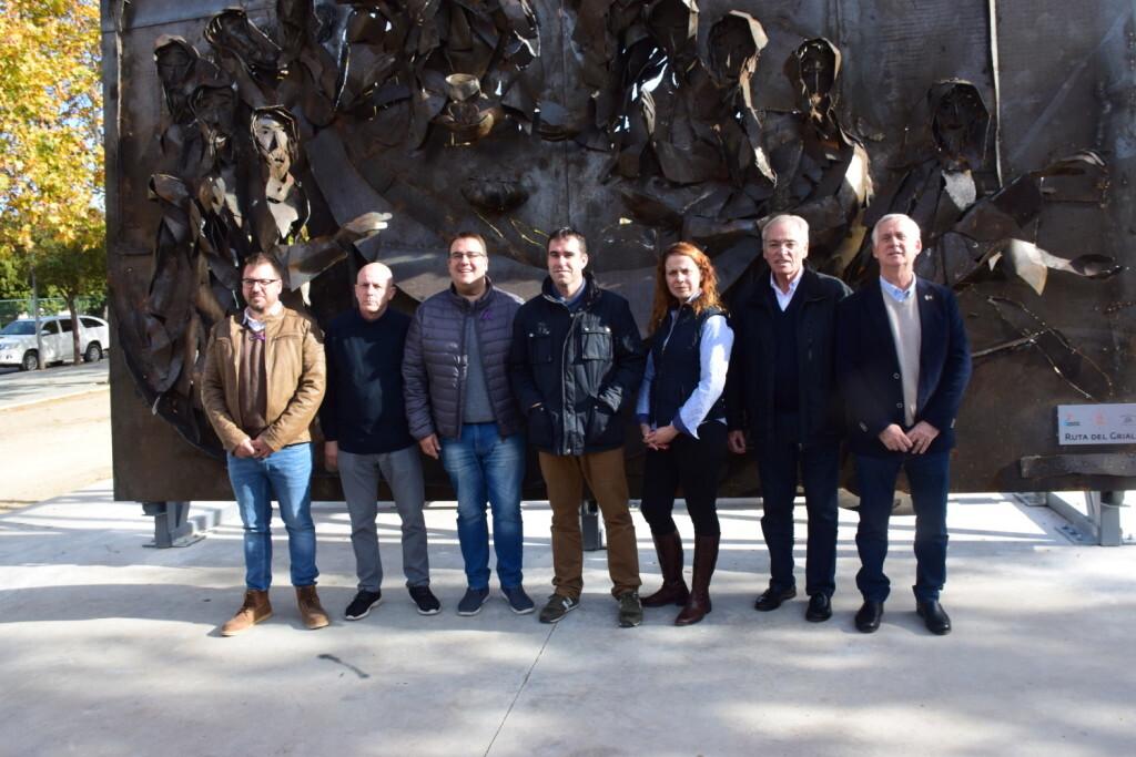 Inauguración de la segunda escultura del Camino del Santo Grial, esta vez en Massamagrell 20191125_124737 (48)
