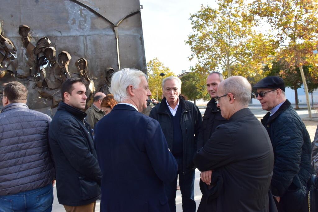 Inauguración de la segunda escultura del Camino del Santo Grial, esta vez en Massamagrell 20191125_124737 (49)