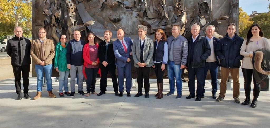 Inauguración de la segunda escultura del Camino del Santo Grial, esta vez en Massamagrell 20191125_124737 (7)