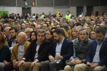 Mitin de Santiago Abascal ahora en Feria Valencia (6)