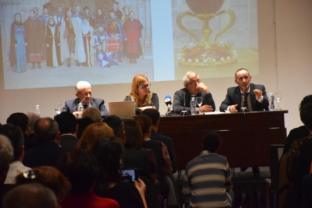 Presentación del consorcio europeo del Camino del Santo Grial en el Ateneo de Valencia 20191128_195647 (11)