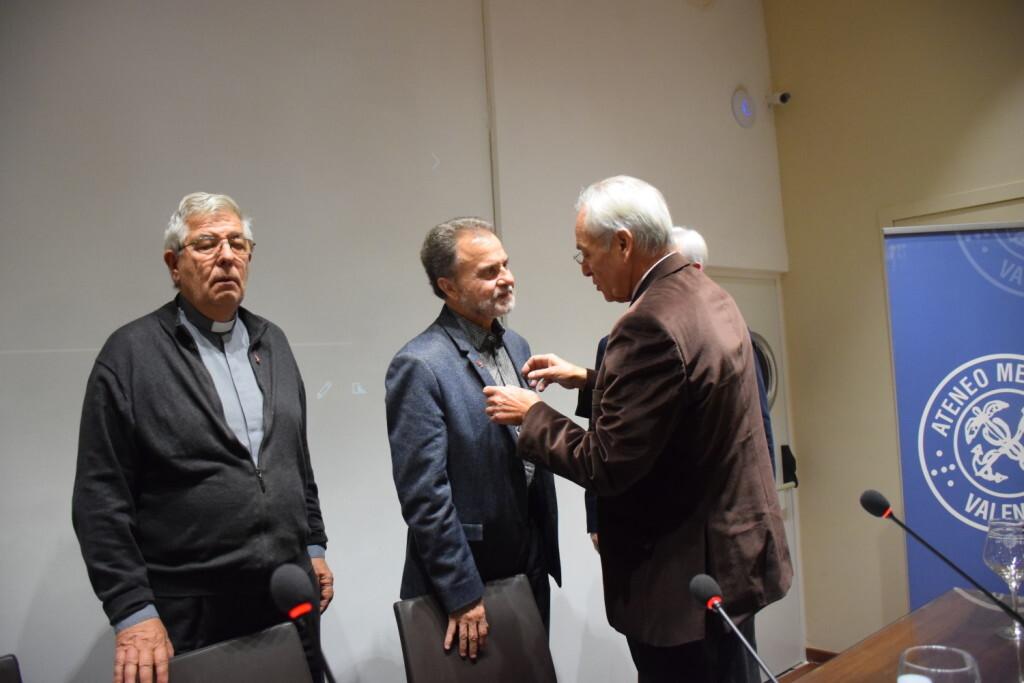 Presentación del consorcio europeo del Camino del Santo Grial en el Ateneo de Valencia 20191128_195647 (13)