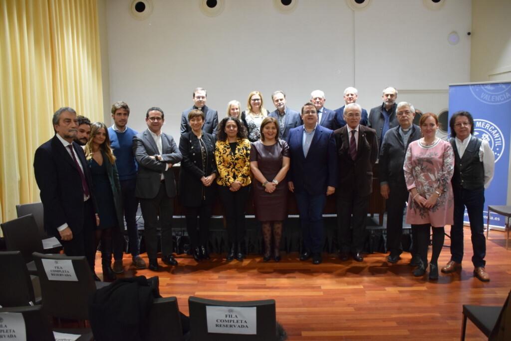 Presentación del consorcio europeo del Camino del Santo Grial en el Ateneo de Valencia 20191128_195647 (15)