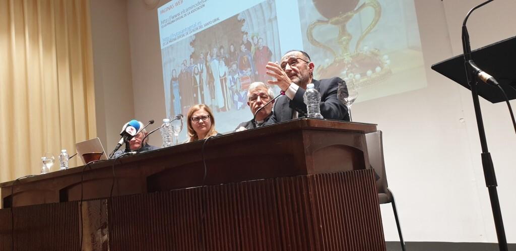 Presentación del consorcio europeo del Camino del Santo Grial en el Ateneo de Valencia 20191128_195647 (3)