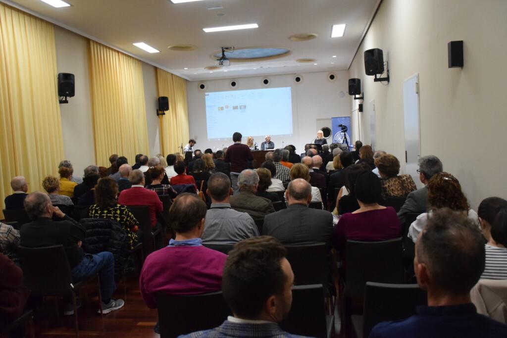 Presentación del consorcio europeo del Camino del Santo Grial en el Ateneo de Valencia 20191128_195647 (6)