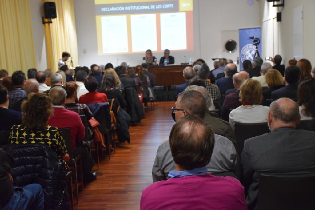 Presentación del consorcio europeo del Camino del Santo Grial en el Ateneo de Valencia 20191128_195647 (7)