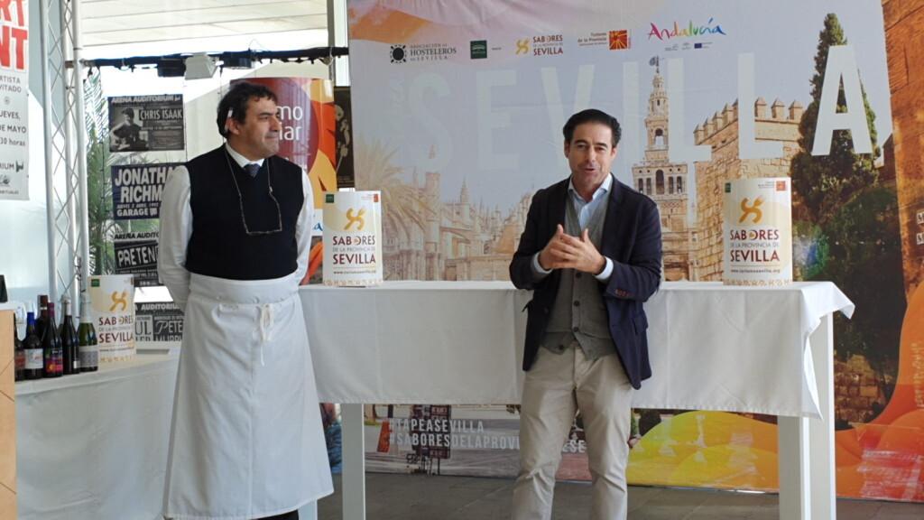 Tradición e Innovación en la oferta gastronómicaSevillana en Valencia conTapea Sevilla 20191126_135931 (1)