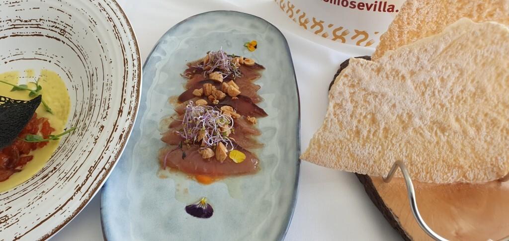 Tradición e Innovación en la oferta gastronómicaSevillana en Valencia conTapea Sevilla 20191126_135931 (13)