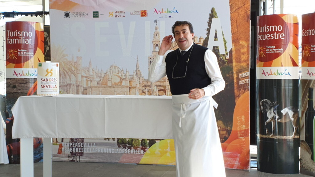 Tradición e Innovación en la oferta gastronómicaSevillana en Valencia conTapea Sevilla 20191126_135931 (2)
