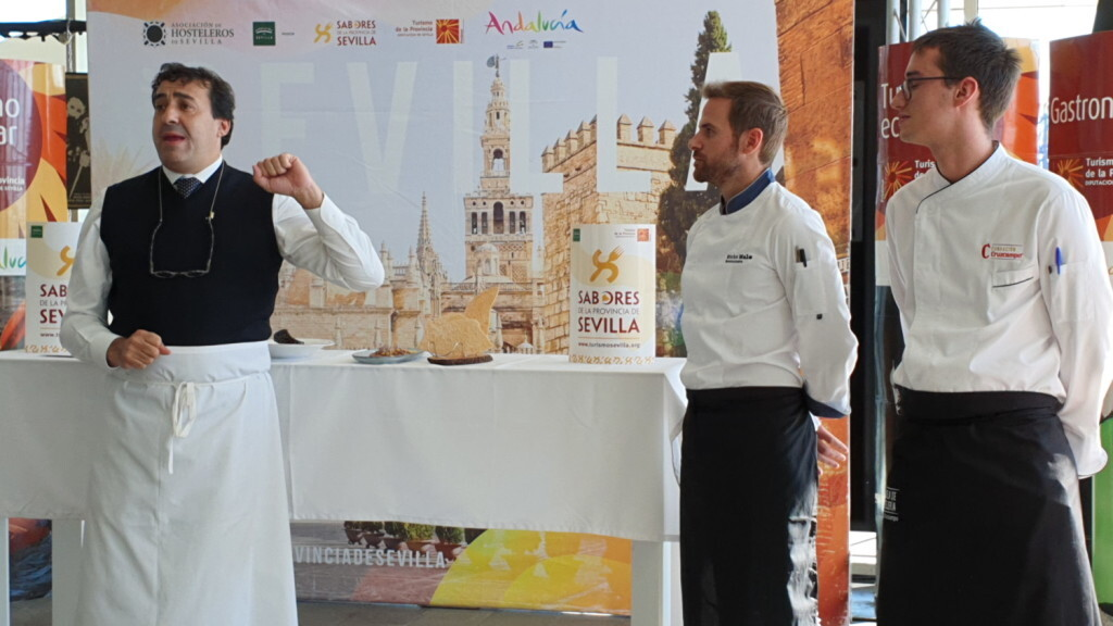 Tradición e Innovación en la oferta gastronómicaSevillana en Valencia conTapea Sevilla 20191126_135931 (3)