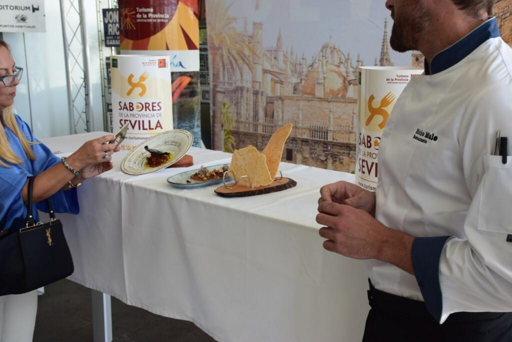 Tradición e Innovación en la oferta gastronómicaSevillana en Valencia conTapea Sevilla 20191126_135931 (36)