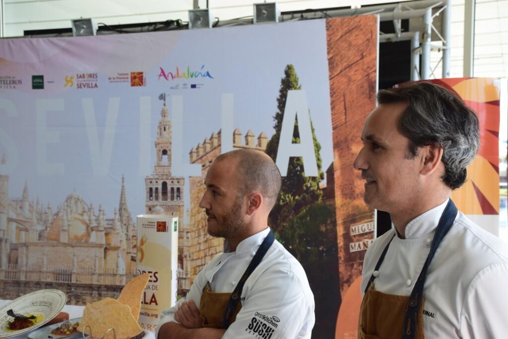 Tradición e Innovación en la oferta gastronómicaSevillana en Valencia conTapea Sevilla 20191126_135931 (39)