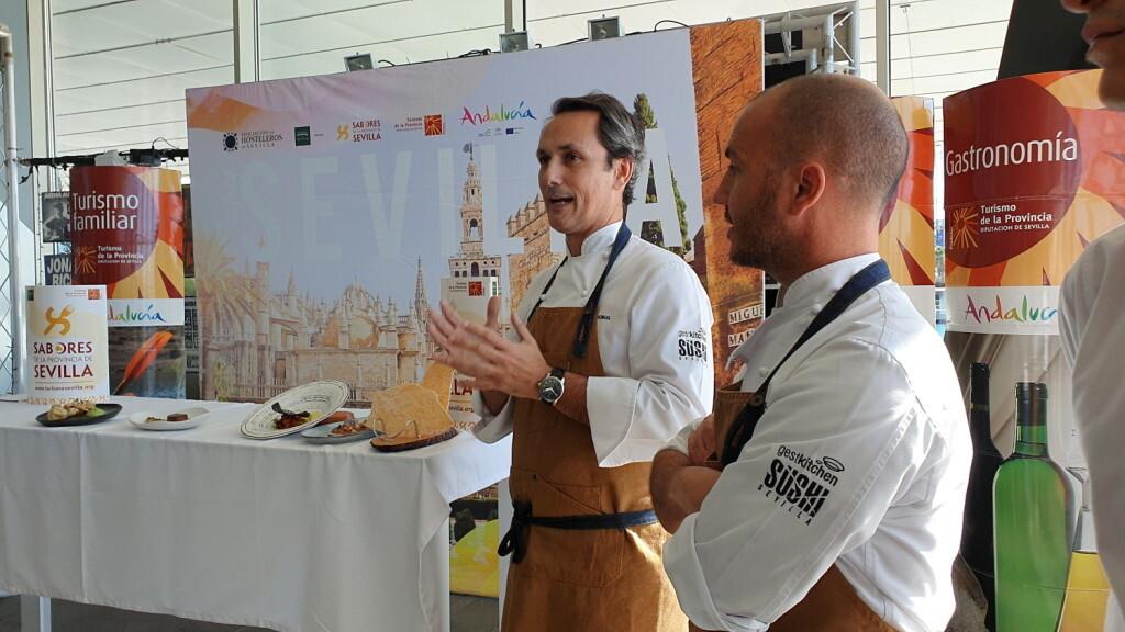 Tradición e Innovación en la oferta gastronómicaSevillana en Valencia conTapea Sevilla 20191126_135931 (4)
