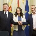 Los partidos del Gobierno valenciano aplauden el preacuerdo Sánchez-Iglesias