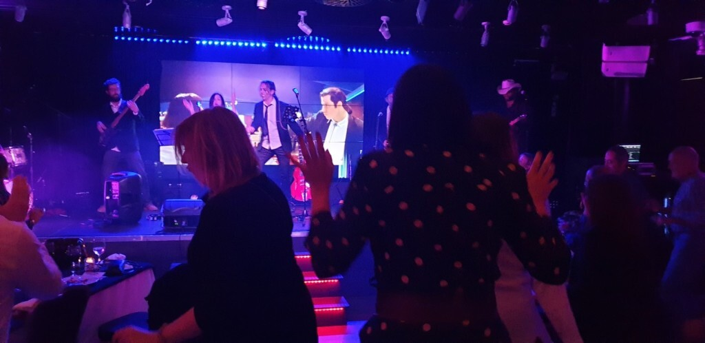 Dinner Show, en Casino Cirsa Valencia Kill Bill Bang Band 20191206_220901 (13)