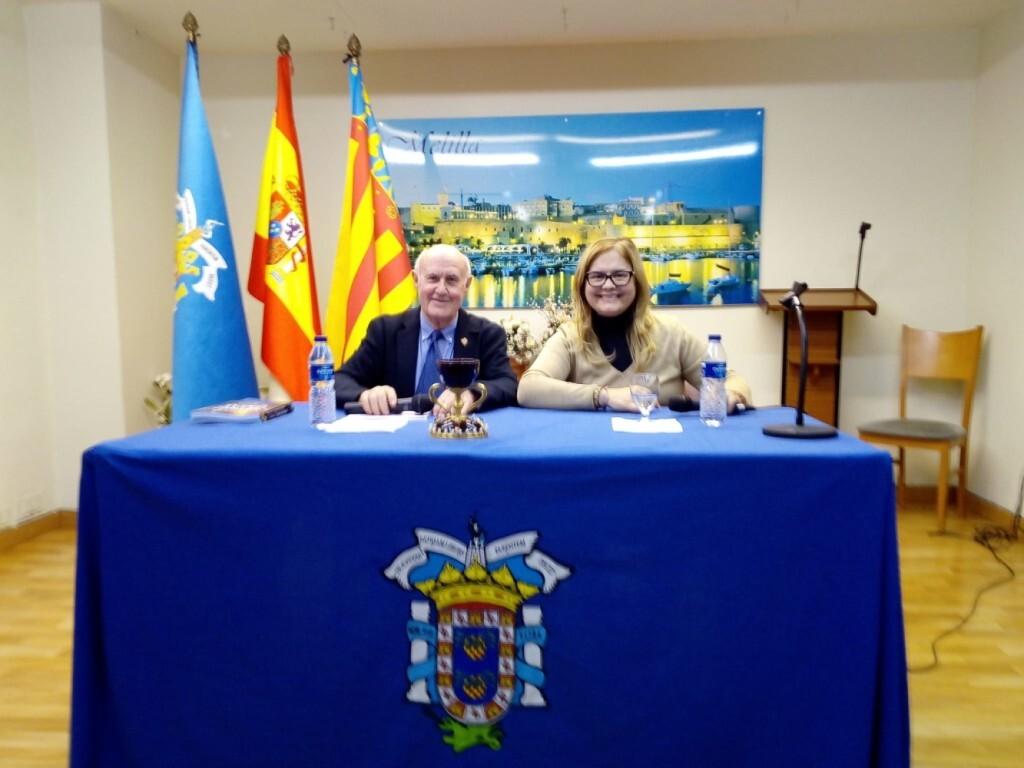 La doctora Ana Mafé en la casa Melilla de Valencia 2019 (1)