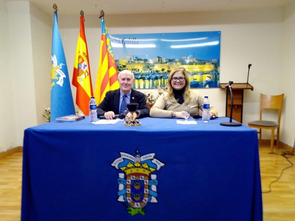 La doctora Ana Mafé en la casa Melilla de Valencia 2019 (2)