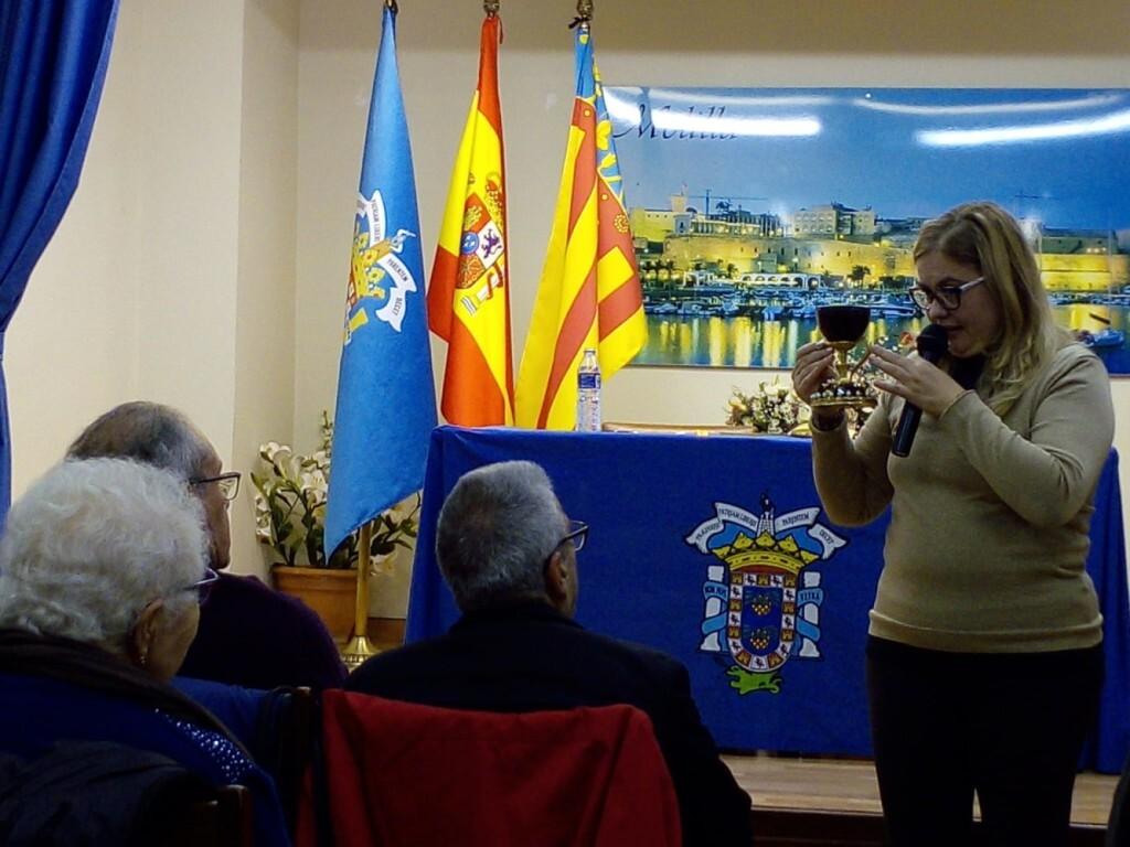 La doctora Ana Mafé en la casa Melilla de Valencia 2019 (6)