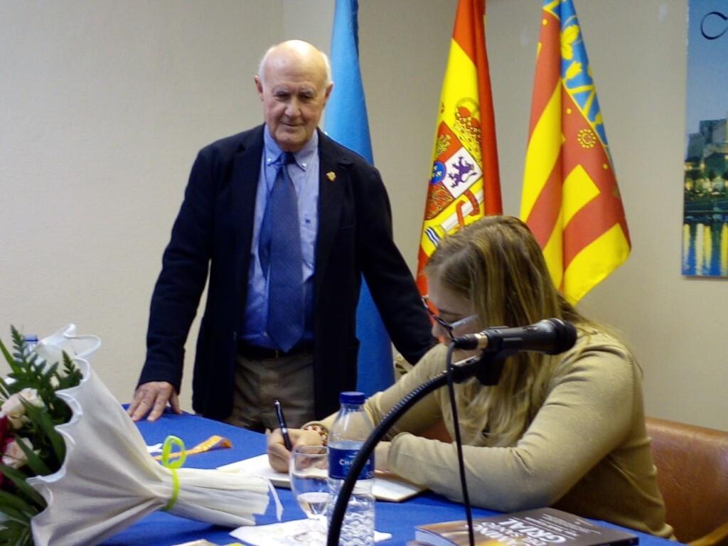La doctora Ana Mafé en la casa Melilla de Valencia 2019 (8)