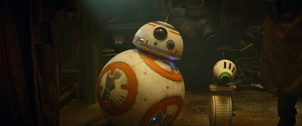 BB-8 and D-O in STAR WARS:  THE RISE OF SKYWALKER
