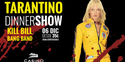 Tarantino Dinner Show 6 diciembre Casino Cirsa Valencia