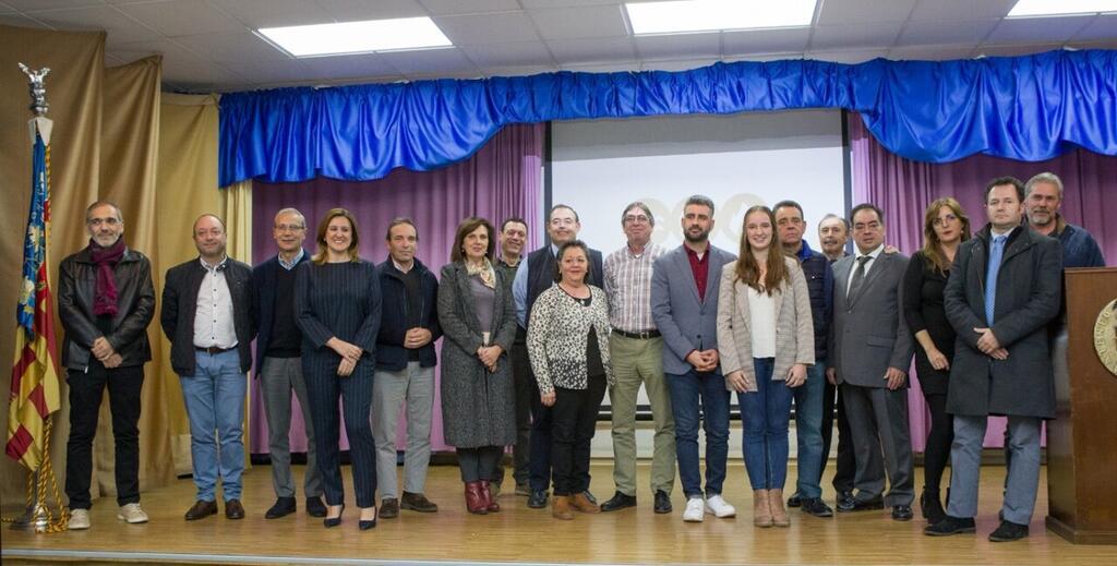 Autoridades y Jurado en la Presentación del XXXI Concurso Mundial de Paellas