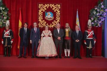 La exaltación de Consuelo Llobell Frasquet Fallera mayor de Valencia en imágenes 2020 (2)