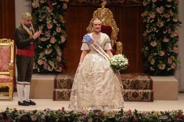 La exaltación de Consuelo Llobell Frasquet Fallera mayor de Valencia en imágenes 2020 (27)