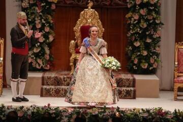 La exaltación de Consuelo Llobell Frasquet Fallera mayor de Valencia en imágenes 2020 (37)