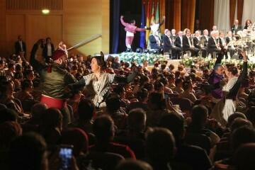 La exaltación de Consuelo Llobell Frasquet Fallera mayor de Valencia en imágenes 2020 (7)