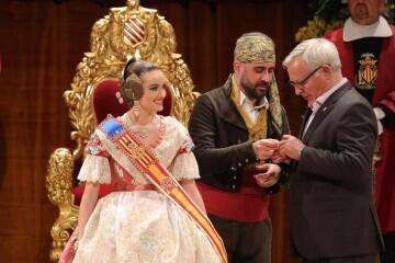 La exaltación de Consuelo Llobell Frasquet Fallera mayor de Valencia en imágenes 2020 (9)