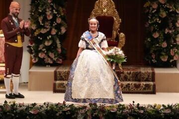 Momentos mágicos de la exaltación de la Fallera Mayor Infantil de Valencia Carla García (11)