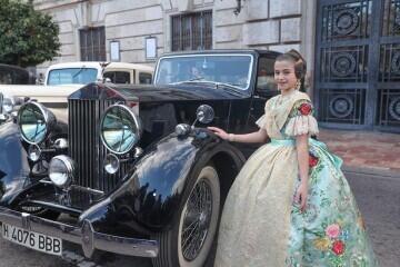 Momentos mágicos de la exaltación de la Fallera Mayor Infantil de Valencia Carla García (2)