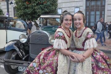 Momentos mágicos de la exaltación de la Fallera Mayor Infantil de Valencia Carla García (4)