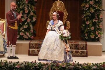 Momentos mágicos de la exaltación de la Fallera Mayor Infantil de Valencia Carla García (9)