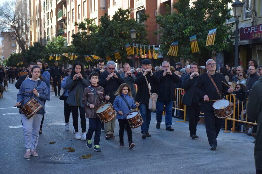 bendición de la fiesta de san Antonio Abad en València 20200117_094858 (65)