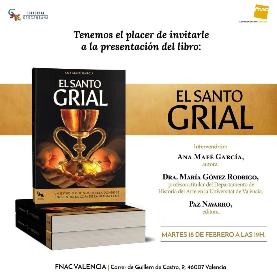El Santo Grial presentación libro doctora Ana Mafé