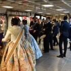 La Generalitat inicia el sábado los servicios especiales de Fallas de Metrovalencia por el espectáculo pirotécnico en La Marina