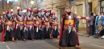 XV Parada Mora organizada por la Falla Jacinto Benavente-Reina Doña Germana 20200307_121704 (44)