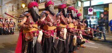 XV Parada Mora organizada por la Falla Jacinto Benavente-Reina Doña Germana 20200307_121704 (45)