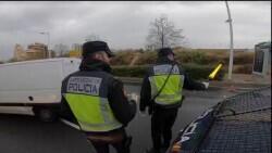 Detenido por robar un coche, huir de un control policial y conducir de forma temeraria